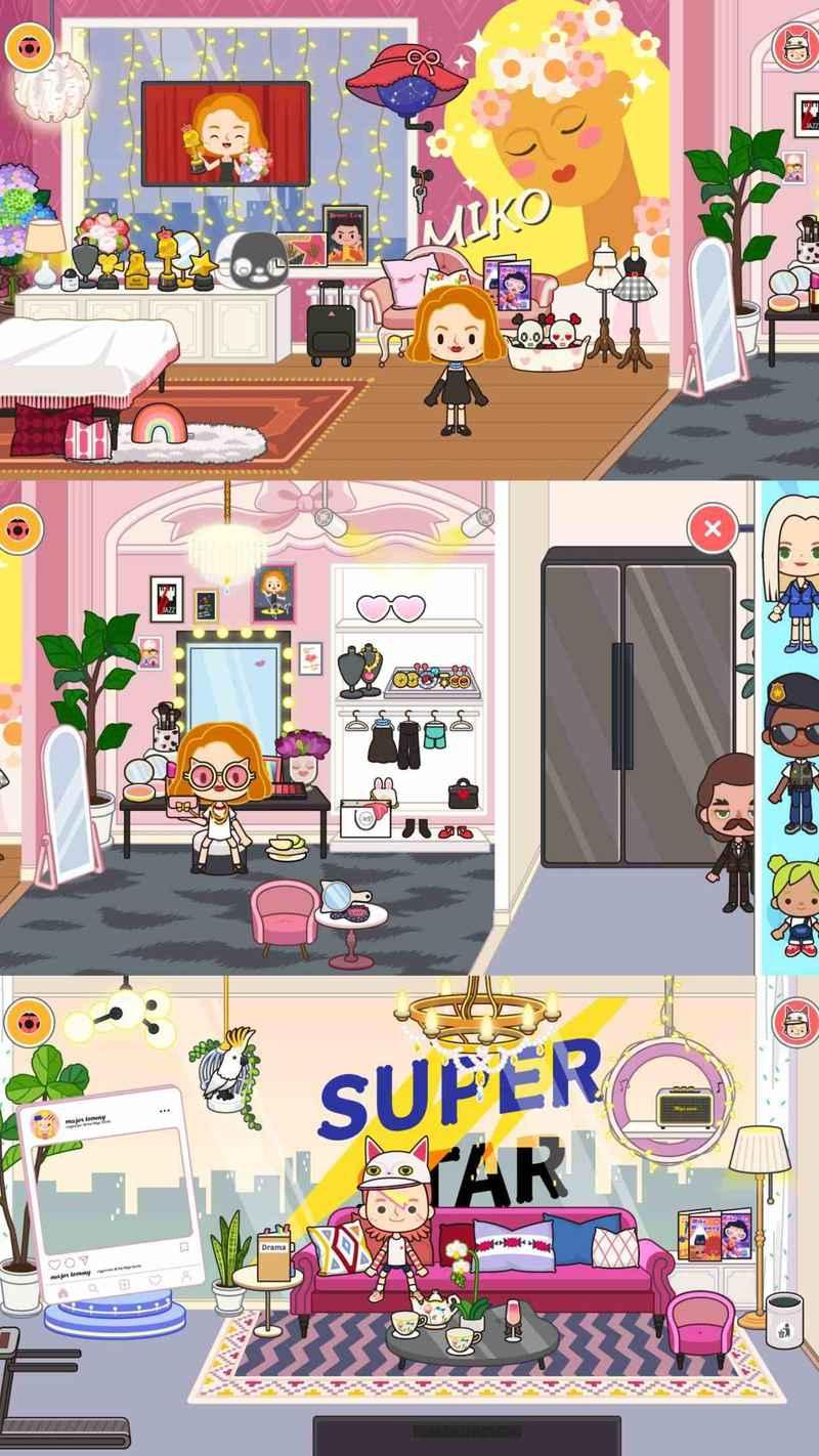 安卓游戏米加小镇:电视节目