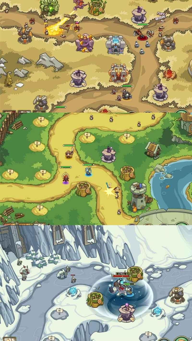 安卓游戏王国守卫战:归来梦幻大陆